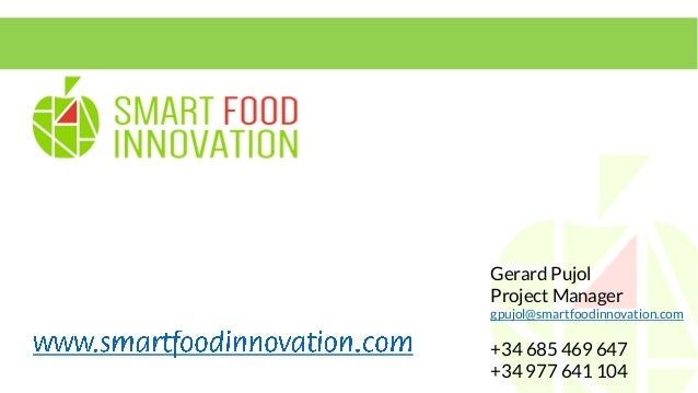 Smart Food Innovation presentation