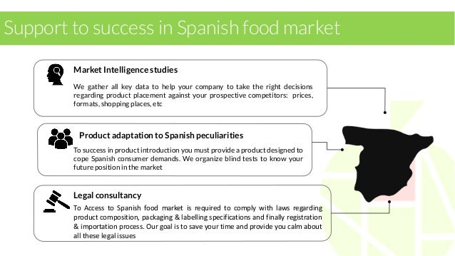 Our services for Spanish companies  BOOST SALES  DETECTION & EVALUATION OF CRITICAL POINTS IN CURRENT PRODUCTS  DETECTION ...