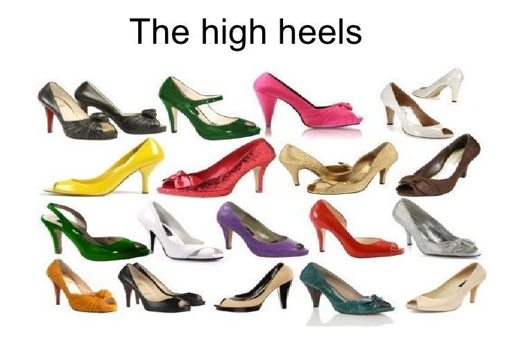 The high heels