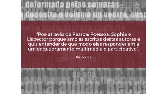 Els traductors de Poe al portuguès • Del poema narratiu El corb hi ha cinc traduccions al portugués. Una és la de Pessoa d...