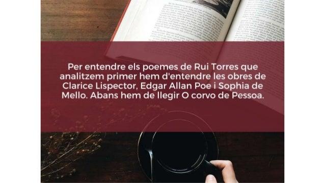 • Um corvo nunca mais es presenta en dos formats: • Llibre-còdex o format vertical (pantalla 2) • Mentre el poema s'està e...