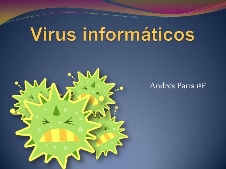 Andrés París 1ºF