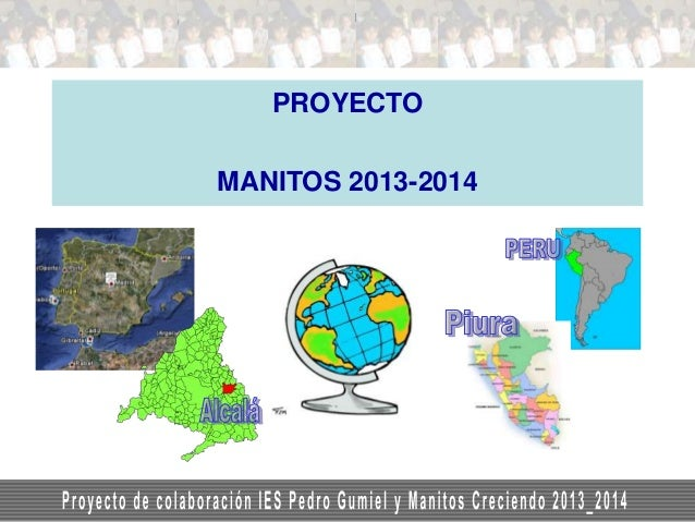 On-line course in risk management 4. On-line courses: project-based  PROYECTO MANITOS 2013-2014