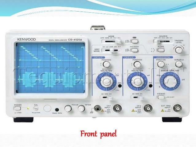 Dual Trace Oscilloscope : Presentaion on dual trace oscilloscope
