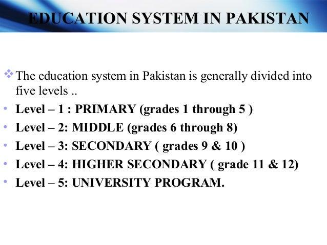 PRIMARY (grade 1 through 5 ) MIDDLE ( grades 6 through 8 ) SECONDARY ( grades 9 & 10 ) HIGHER SECONDARY (grades 11 & 12 ) ...