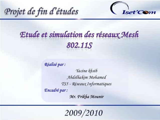 GLP 1Yacine khsibAbdelhakim MohamedTS5 - Réseaux Informatiques