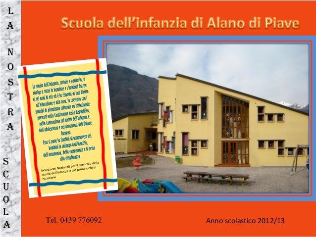 Anno scolastico 2012/13LANOSTRASCUOLA