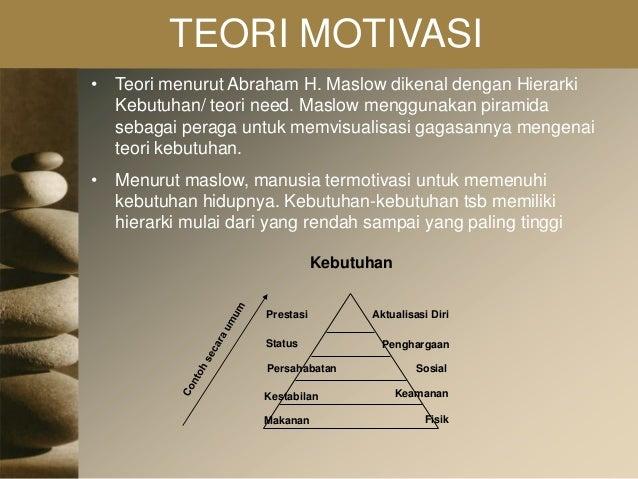 """proses terjadinya motivasi menurut maslow Motivasi adalah """"proses yang ikut untuk mencegah terjadinya konsep motivasi manusia menurut abraham maslow mengacu pada lima."""