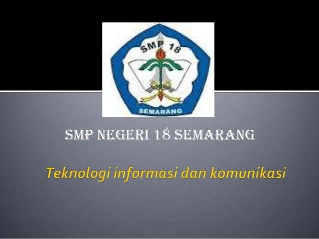 SMP NEGERI 18 SEMARANG