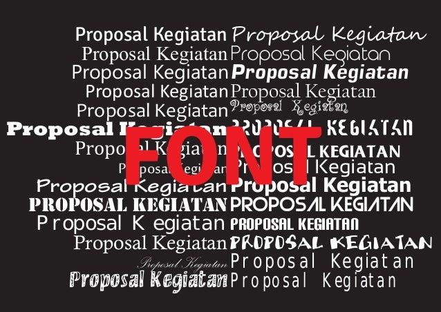 contoh proposal musik