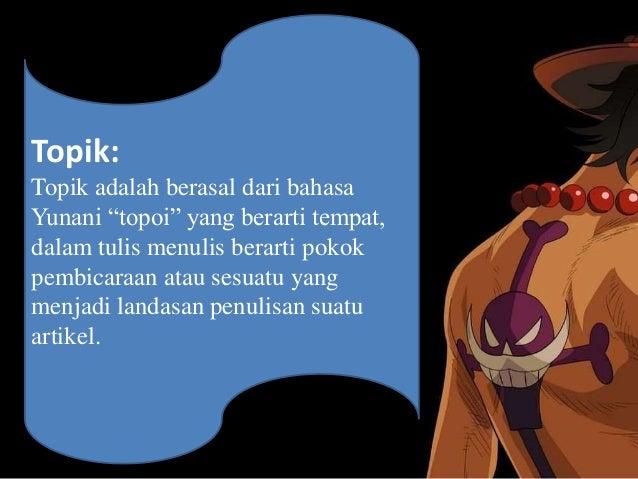 Presentasi karangan bahasa indonesia