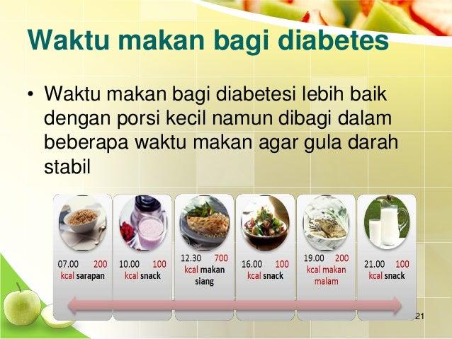 Pola Makan Pada Diabetes