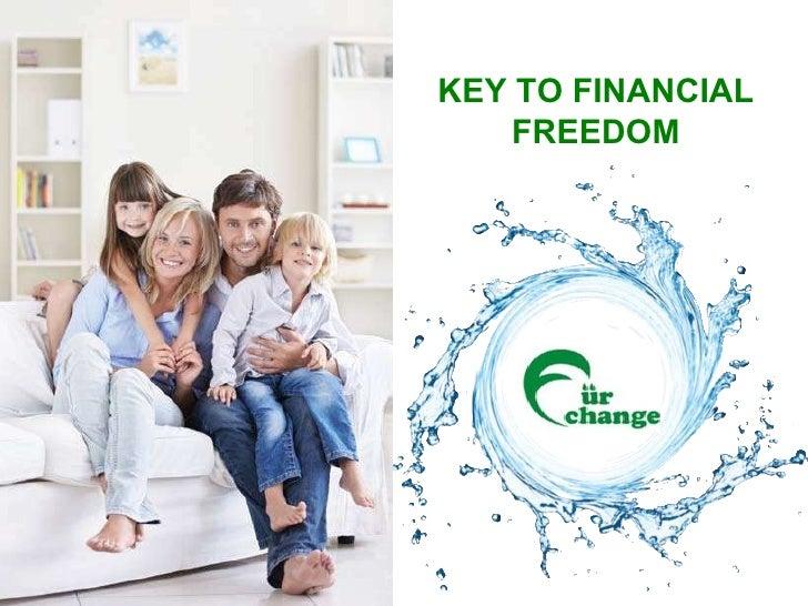 KEY TO FINANCIAL FREEDOM