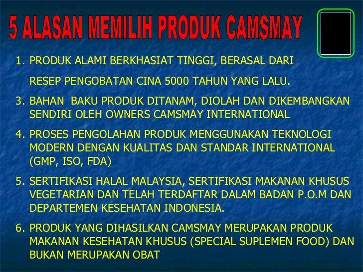 Presentasi Produk Camsmay Ver.Indonesia Slide 2