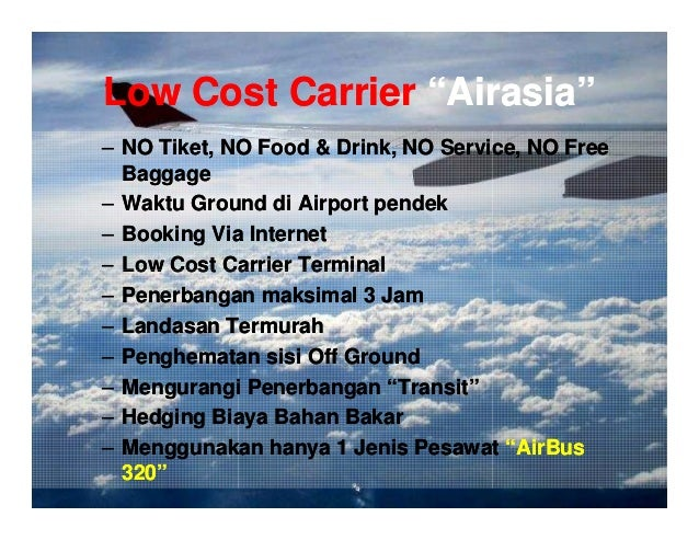 air asia cost leadership strategy Air asia uses a cost leadership strategy due to their different strategic positioning, air asia and mas differ in their customer value propositions as well as target market segments.