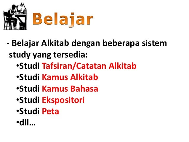 Indonesian - English Bilingual Bible /Alkitab Holy Bible ...