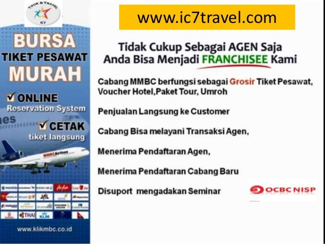Presentasi Bisnis Ic7 Travel Educational Travel
