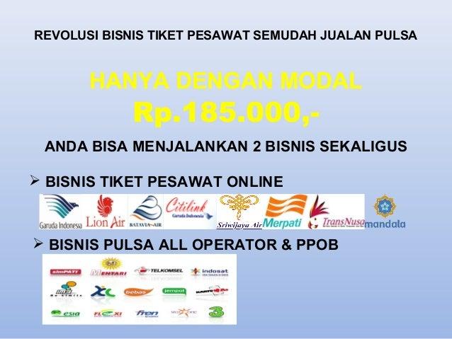 Presentasi bisnis tiket pesawat online PT.NIRWANA WISATA ...