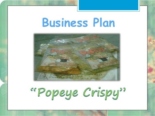 business plan keripik bayam