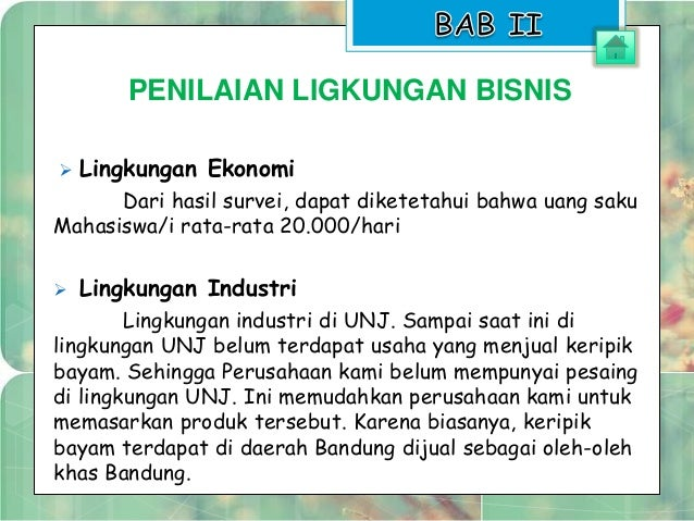 Contoh Presentasi Bisnis Plan Dalam Bentuk Power Point ...