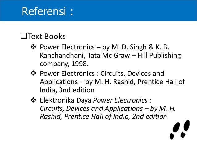 power electronics rashid 2nd edition pdf