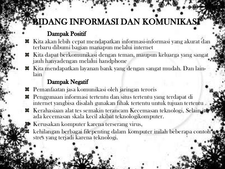 Presentasi Dampak Positif Dan Negatif IMK