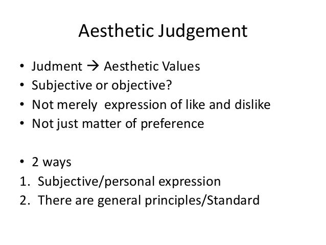 What's the Difference Between Judgement and Evaluation?