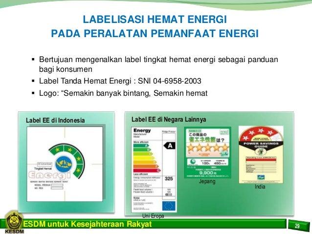 presentasi energi baru terbarukan dan konservasi energi