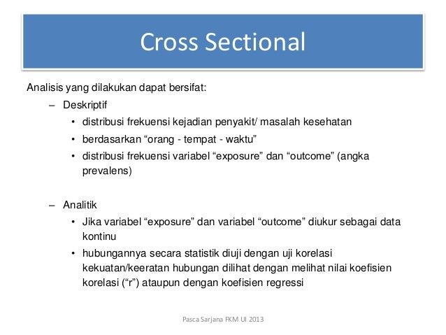 Presentasi Epid Studi Deskriptif