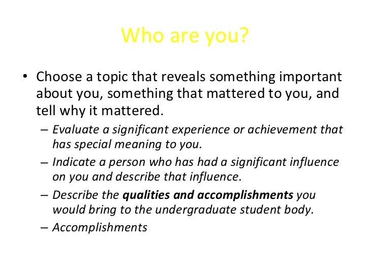 evaluate a significant experience or achievement that has special meaning to you Can you evaluate a significant experience or achievement that has special meaning for you 2 answers  can you describe an interest or experience that has special meaning to you can a virgin catch trichomonas how many toes does a zebra have what does wheat look like.