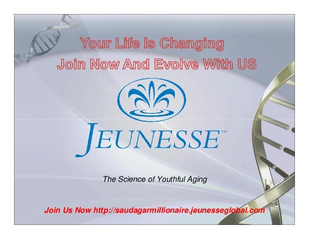 The Science of Youthful Aging  Join Us Now http://saudagarmillionaire.jeunesseglobal.com