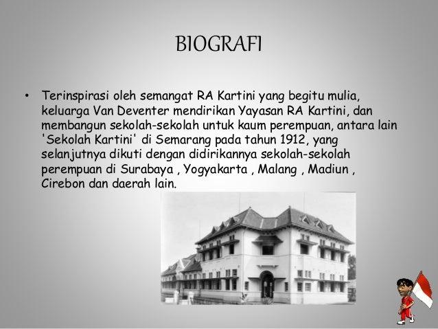 R.A KARTINI • Suami R.A Kartini : Raden Adipati Joyodiningrat, saat itu menjabat sebagai Bupati Rembang Jawa Tengah. • Riw...