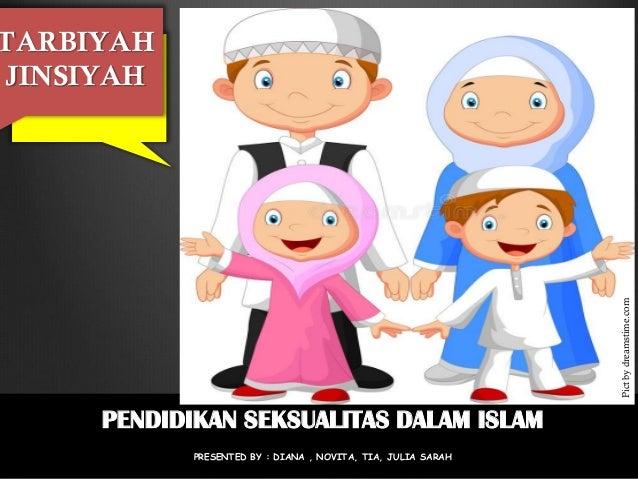 TARBIYAH JINSIYAH PENDIDIKAN SEKSUALITAS DALAM ISLAM PRESENTED BY : DIANA , NOVITA, TIA, JULIA SARAH Pictbydreamstime.com
