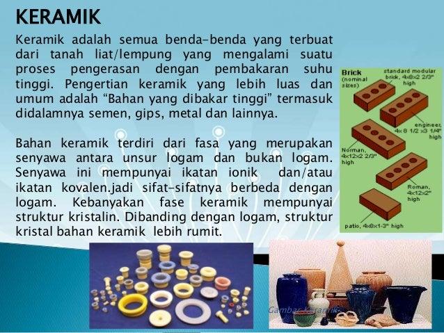 Presentasi keramik