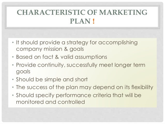 chapter 8 marketing plan hisrich