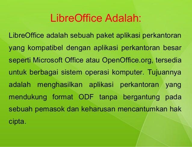 Presentasi membuat buku dengan libre office
