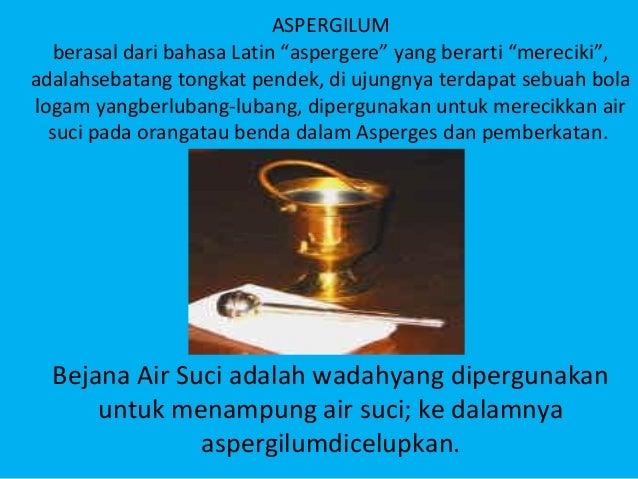 Peralatan Misa Dan Pemberkatan