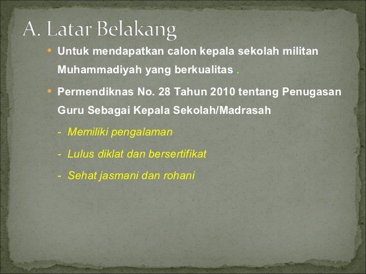Laporan On the Job Learning Cakep Muhammadiyah Slide 2