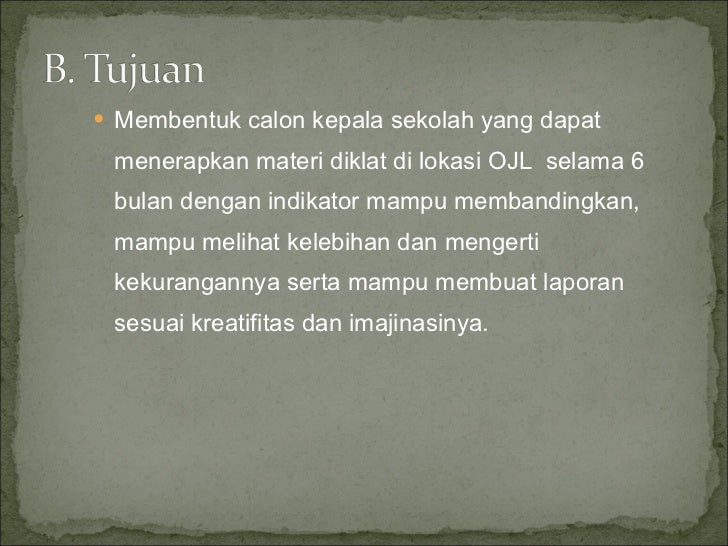 Laporan On the Job Learning Cakep Muhammadiyah Slide 3