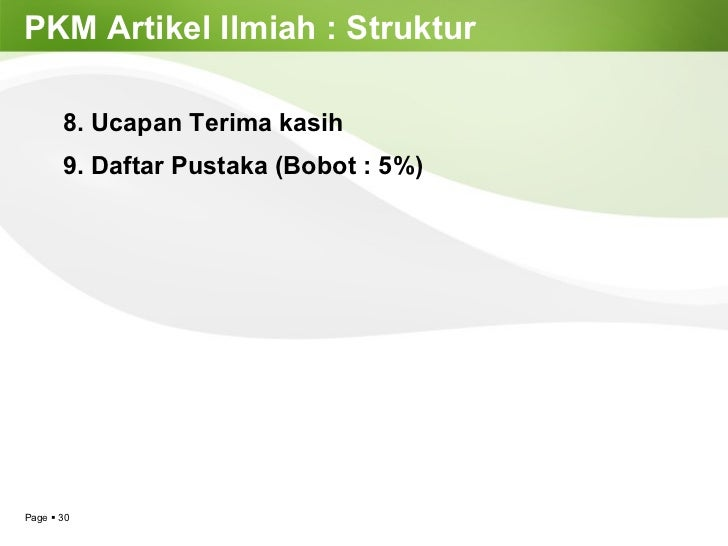 Coaching Day Presentation Pkm Artikel Ilmiah