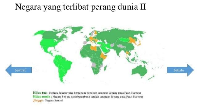Negara yang terlibat perang dunia II  Sentral Sekutu