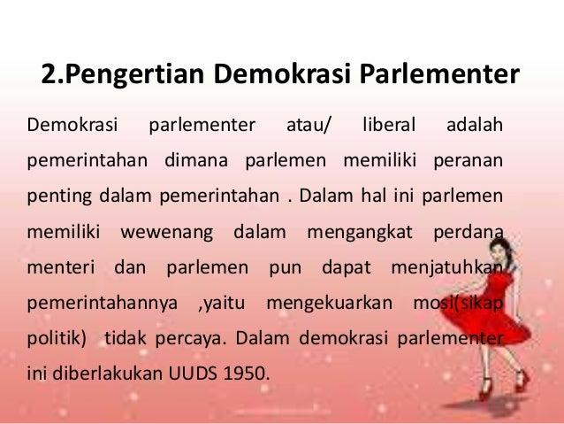 Demokrasi Parlementer
