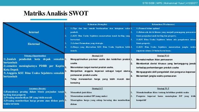 Contoh Skripsi Analisis Swot Contoh Soal Dan Materi Pelajaran 2