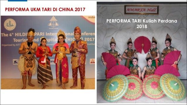 29 PERFORMA TARI Kuliah Perdana 2018 PERFORMA UKM TARI DI CHINA 2017