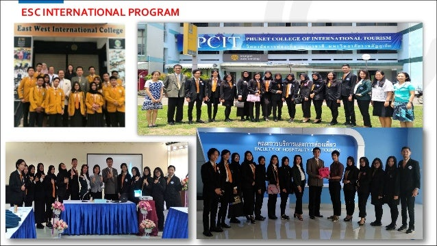 32 ESC INTERNATIONAL PROGRAM