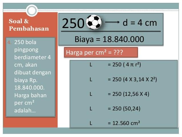 Presentasi Matematika (BAB : BOLA)