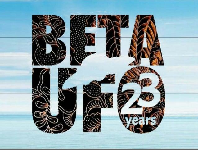 Presentasi ultah BETA-UFO ke 23 Slide 3
