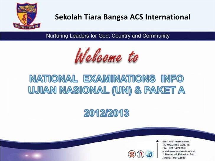 Sekolah Tiara Bangsa ACS International