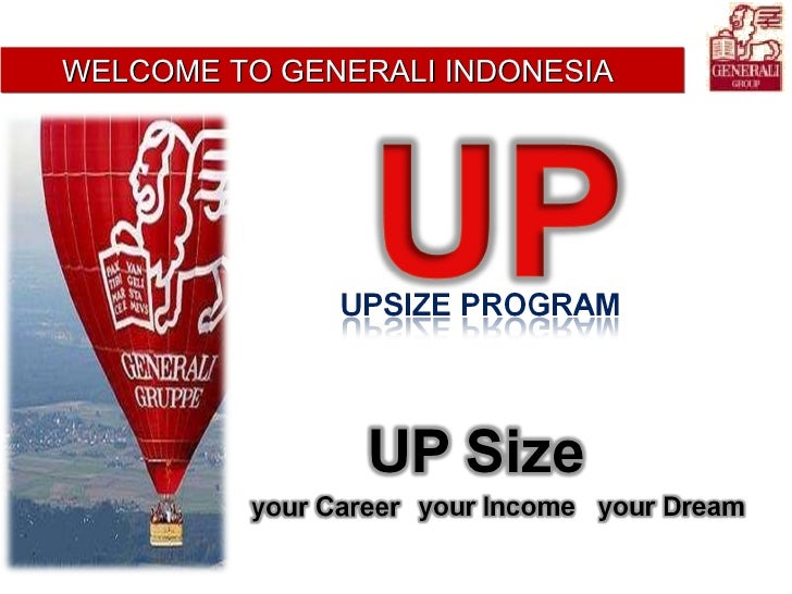 WELCOME TO GENERALI INDONESIA
