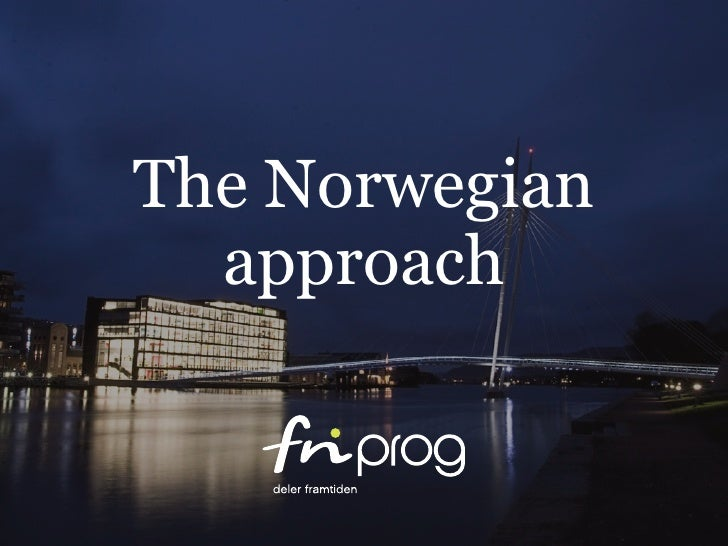 The Norwegian approach to open source in the public sector